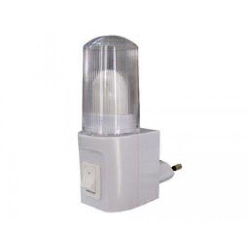 Φωτάκι νυκτός 3W 230V με διακόπτη XYD408B