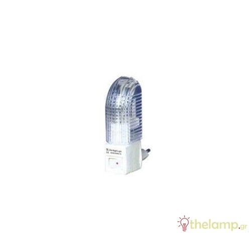 Φωτάκι νυκτός 5W 230V με διακόπτη XYD432