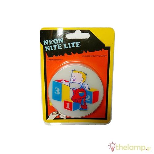 Φωτάκι νυκτός neon nite lite SNL-285