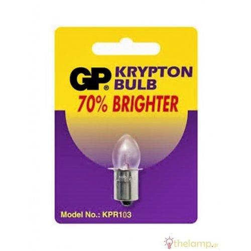 Λαμπάκι 3.6V Px13,5s 0.75AMP krypton GP