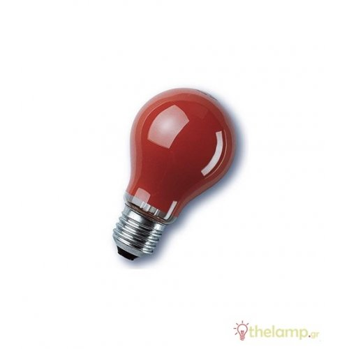 230V 25W E27 κόκκινη Radium