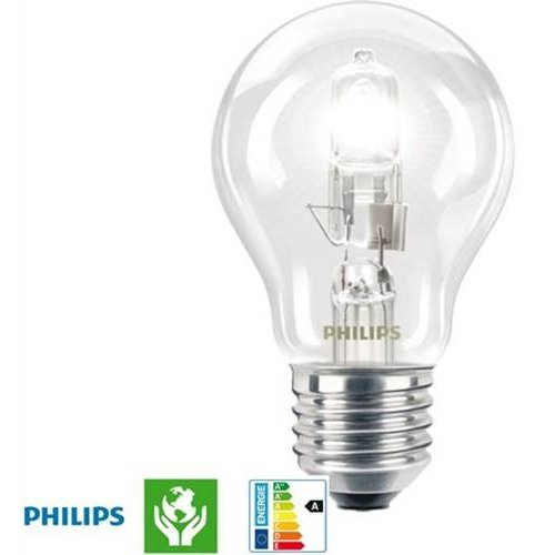 Eco 53W E27 230V διάφανη dimmable Philips