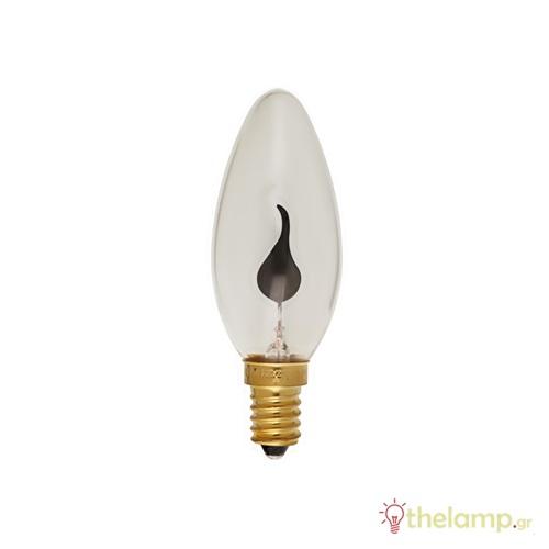 Λαμπτήρας επαγωγικός φλόγα C35 5W E14 240V dimmable Φos_me