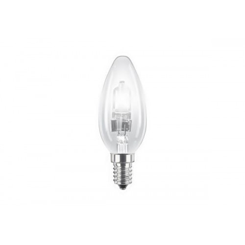 Eco 28W E14 230V κερί διάφανη dimmable Philips
