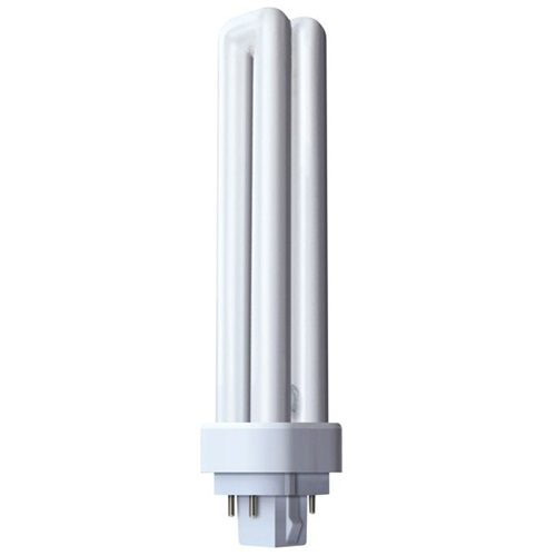 Φθόριο 18W/830 G24Q-2 warm white 3000K Dulux D/E Radium