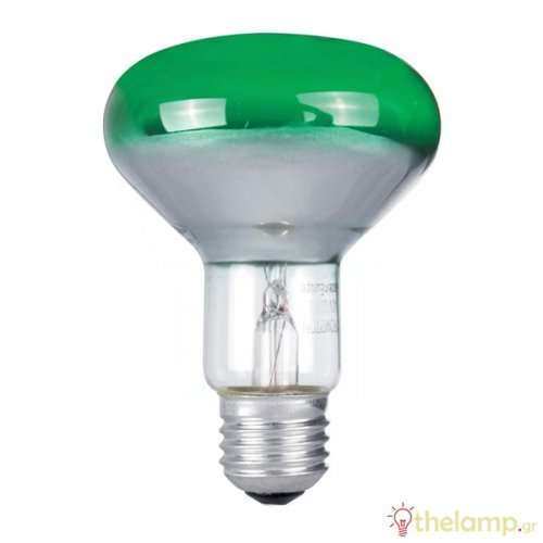 Καθρέπτου 230V 60W E27 R80 πράσινη General Electric