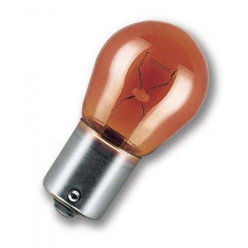 Osram 12V 21W BAU15s PY21W πορτοκαλί original 7507