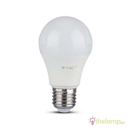Led κοινή A60 12W E27 220-240V warm white 3000K Samsung chip dimmable 20044 VT-1864D V-TAC