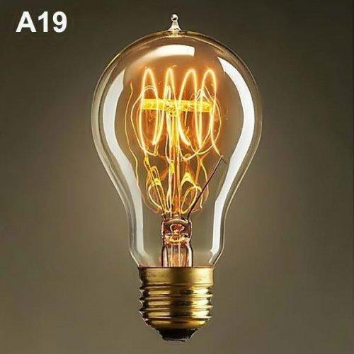 Edison 230V 40W E27 ST64-19A νήματος