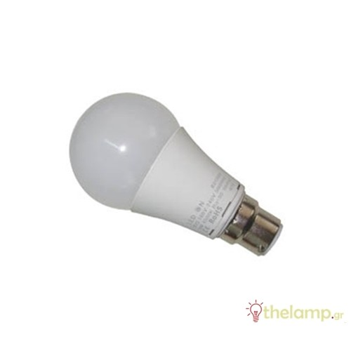 Led κοινή A60 9W B22d 230V cool white 4000K J&C