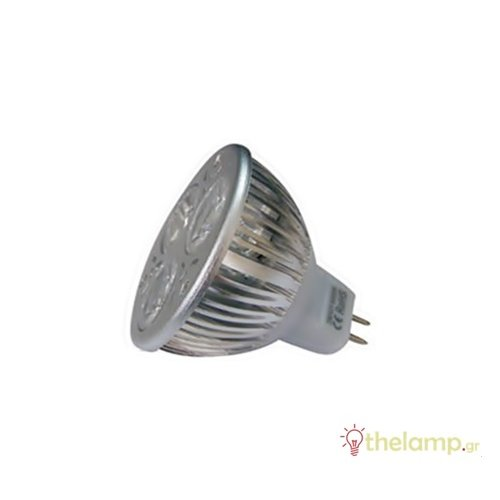 Led σποτ GU5.3 3W MR16 42V day light 6400K 120° LedOn