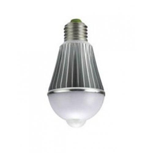 Λαμπτήρας LED με ανιχνευτή κίνησης E27 6W 230V day light 5000K 360° ST460 Starlux