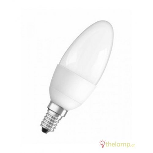 Led κερί B40 6W E14 230V warm white 2700K dimmable CLB40 911437 Osram