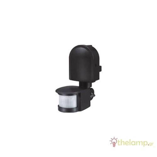 Ανιχνευτής κίνησης μαύρος IP44 1200W 230V 180° ST10F Starlux