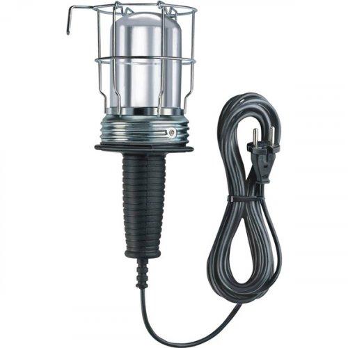 Φωτιστικό συνεργείου με καλώδιο 2x0.75mm 10m Ε27 μαύρο 1176510 Brennenstuhl