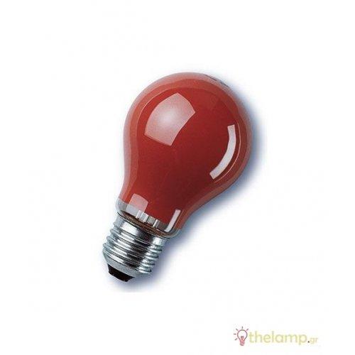240V E27 25W κόκκινη Osram