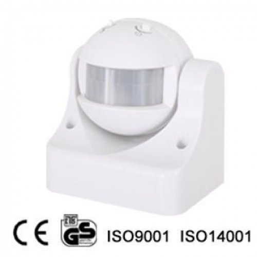 Ανιχνευτής κίνησης λευκός 1200W 230V 180° LX-PR-39 PANAlight Megaman