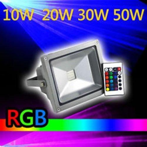 Προβολέας led 20W 230V γκρί/μαύρος RGB ZGCTGD180 ZHL