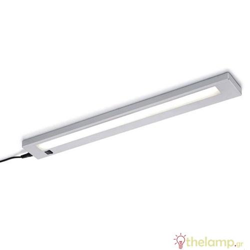 Φωτιστικό led πάγκου πλακέ 4W 34cm day light 6500K