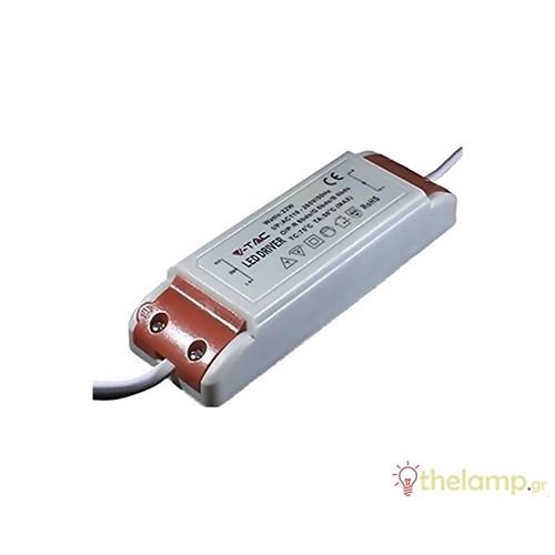 Τροφοδοτικό για Led πάνελ 22W 8038 IP20 V-TAC