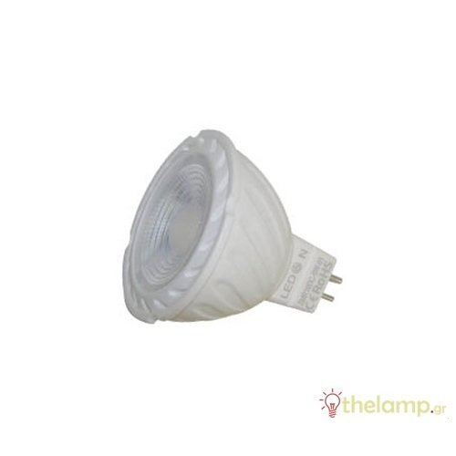 Led σποτ GU5.3 6W MR16 12V cool white 4500K 38° LedOn