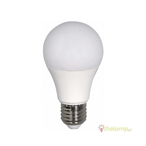 Led κοινή A60 12W E27 220-240V cool white 4000K J&C
