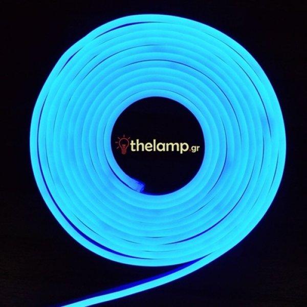 Led ταινία neon flex 24V 120led μπλε 2515 VT-2835 V-TAC