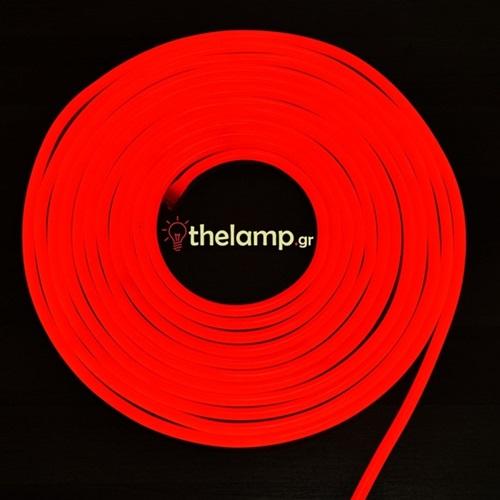 Led ταινία neon flex 24V 120led κόκκινη 2516 VT-2835 V-TAC