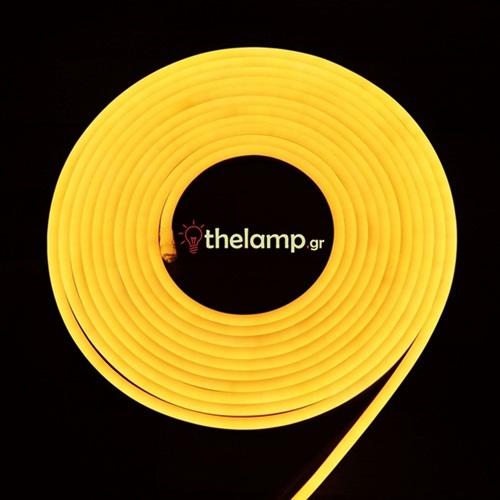 Led ταινία neon flex 24V 120led warm white 3000K 2513 VT-2835 V-TAC