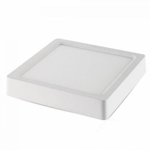 Φωτιστικό led panel επιφανειακό 15W 110-265V 120° cool white 4000K τετράγωνο 4807 VT-1415SQ V-TAC