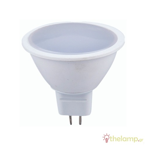 Led σποτ GU5.3 7W MR16 12V plastic day light 6000K 1690 VT-1977 V-TAC