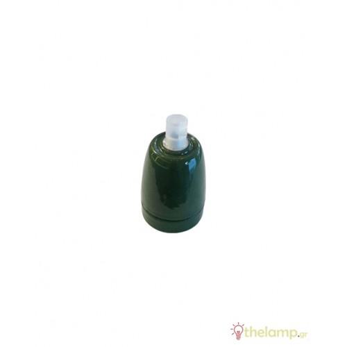 Ντουί πορσελάνης E27 πράσινο 3797 VT-799 V-TAC