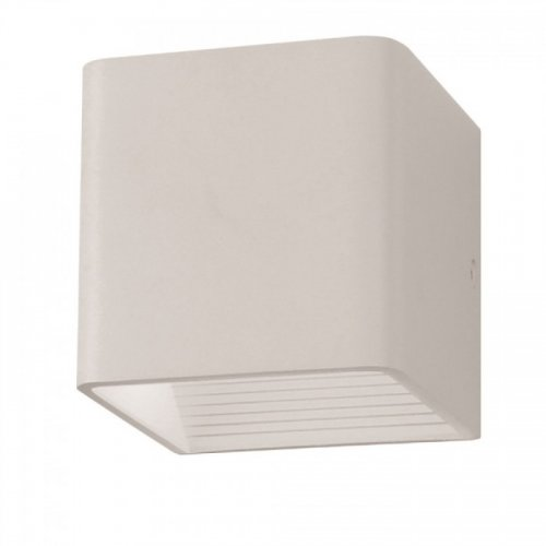 Led φωτιστικό τοίχου 5W 110-240V 120° warm white 3000K λευκό 7085 VT-758 V-TAC