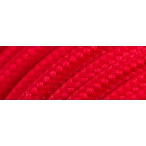 Καλώδιο υφασμάτινο στρόγγυλο κόκκινο 2x0.75mm 0T62E007