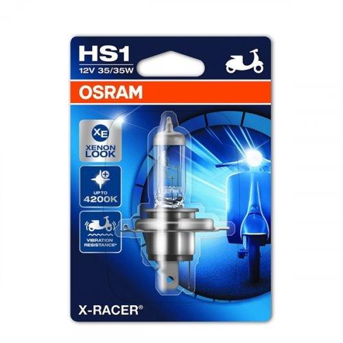 Osram 12V 35/35W PX43t HS1 warm white 3700K +20% X-racer 64185XR