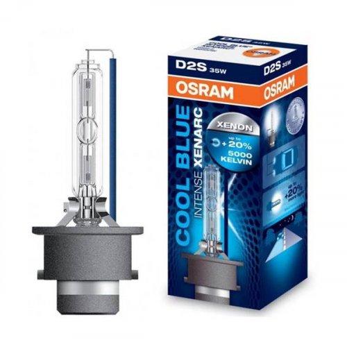 Osram 85V 35W P32d-2 D2S +20% xenon cool blue 66240CBi