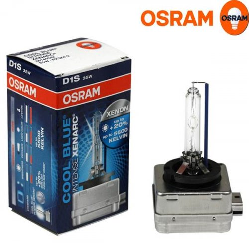 Osram 12V 35W PK32d-2 D1S +20% day light 5500K xenon cool blue intense 66140CBi