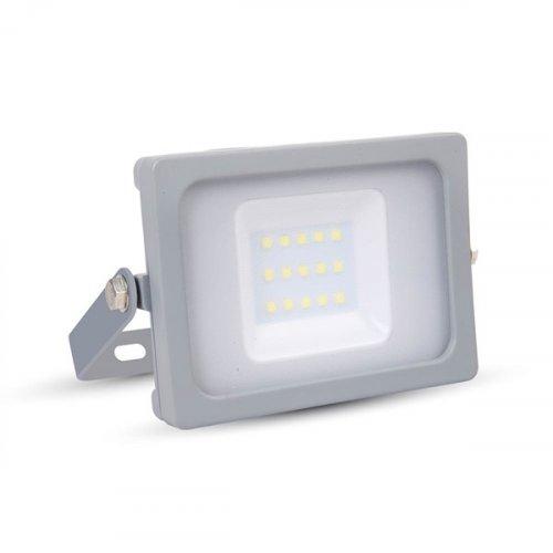 Προβολέας led 10W 240V day light 6400K  γκρι SMD slim 5782 VT-4911 V-TAC