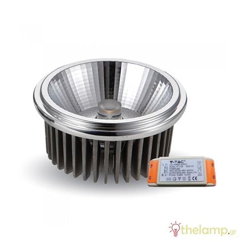 Led G53 20W AR111 230V 40° cool white 4500K 1247 VT-1120 V-TAC