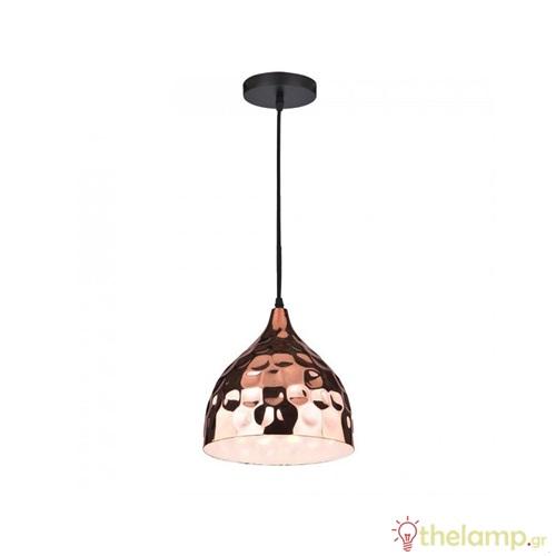 Φωτιστικό κρεμαστό σφυρήλατο ροζ χρυσό 3715 VT-8230 V-TAC