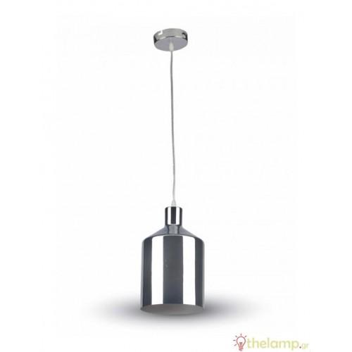 Φωτιστικό κρεμαστό σφυρήλατο χρώμιο 3705 VT-8175 V-TAC