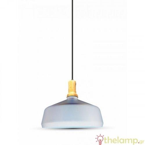 Φωτιστικό κρεμαστό μεταλλικό λευκό 3765 VT-7545 V-TAC