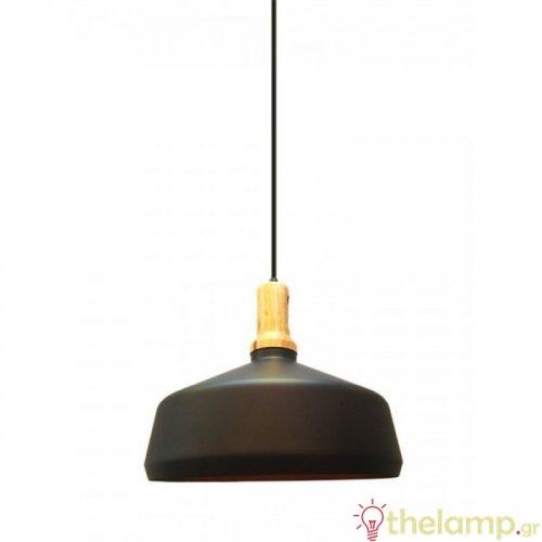 Φωτιστικό κρεμαστό μεταλλικό μαύρο 3766 VT-7545 V-TAC