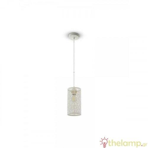 Φωτιστικό κρεμαστό μεταλλικό λευκό ματ 3826 VT-7131 V-TAC