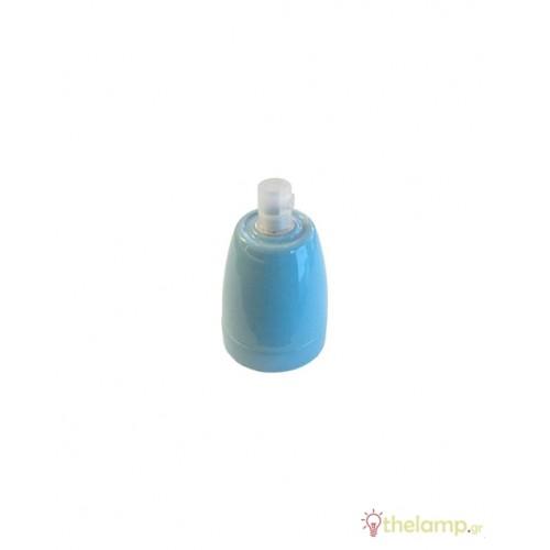 Ντουί πορσελάνης E27 μπλε 3798 VT-799 V-TAC