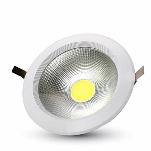 Led downlight 10W 240V 120° cool white 4500K στρόγγυλο 1271 VT-26101 V-TAC