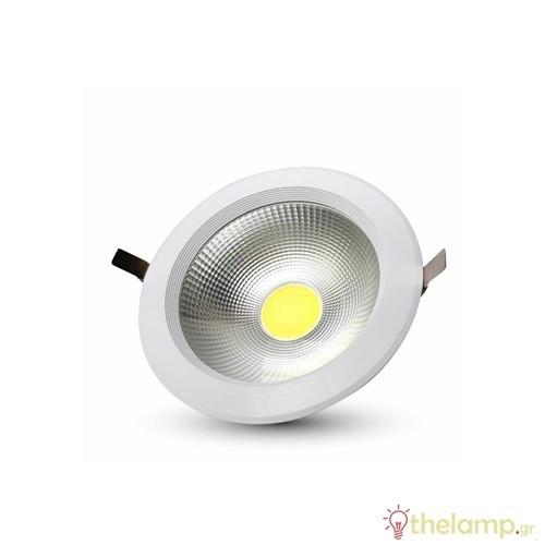 Led downlight 30W 100-277V 120° cool white 4500K στρόγγυλο 1277 VT-26301 V-TAC