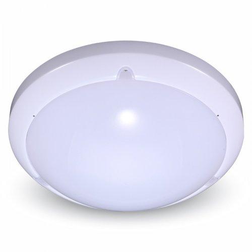 Πλαφονιέρα Led 16W 240V 360° day light 6000K στρόγγυλη λευκή με σένσορα 1282 VT-8001C V-TAC