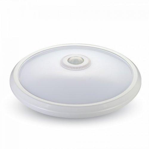 Πλαφονιέρα Led 12W 240V 360° warm white 3000K με σένσορα 5057 VT-8017 V-TAC