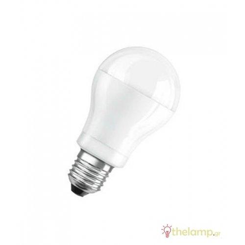Led κοινή A60 9.5W E27 220-240V warm white 2700K value Osram